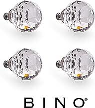 BINO 4-Pack Crystal Drawer Knobs - 1.5