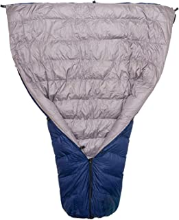 Paria Outdoor Products Thermodown 30 Degree Down Sleeping Quilt - Ultralight 3 Season Quilt - Perfect for Backcountry Camping, Backpacking and Hammocks