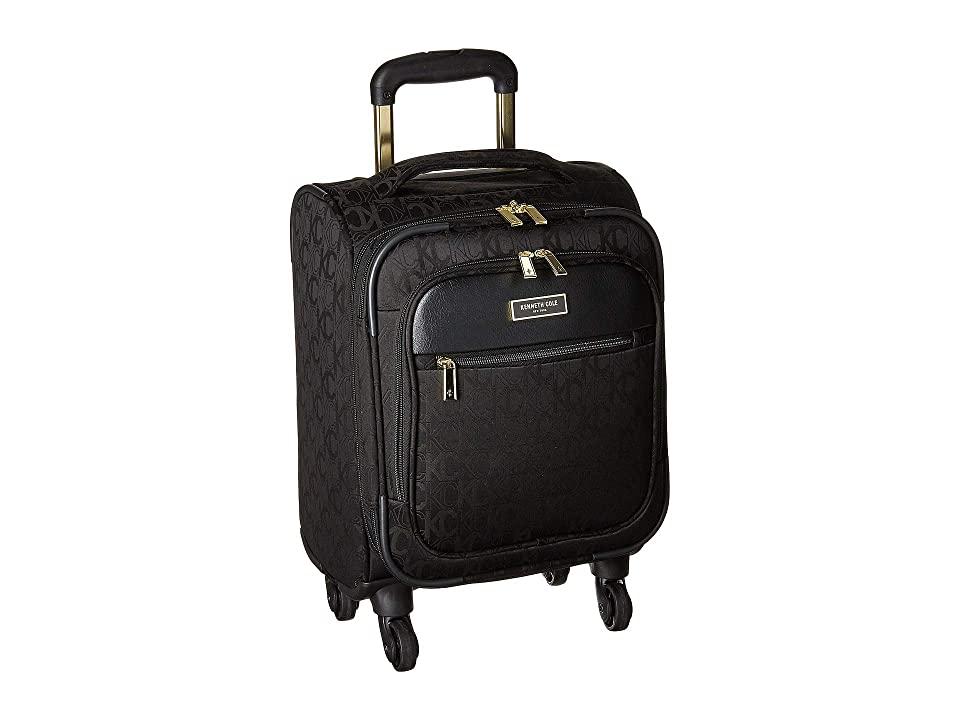 Kenneth Cole Reaction 16 KC Street Polyester Underseater (Black) Carry on  Luggage 1a027e7db84d6