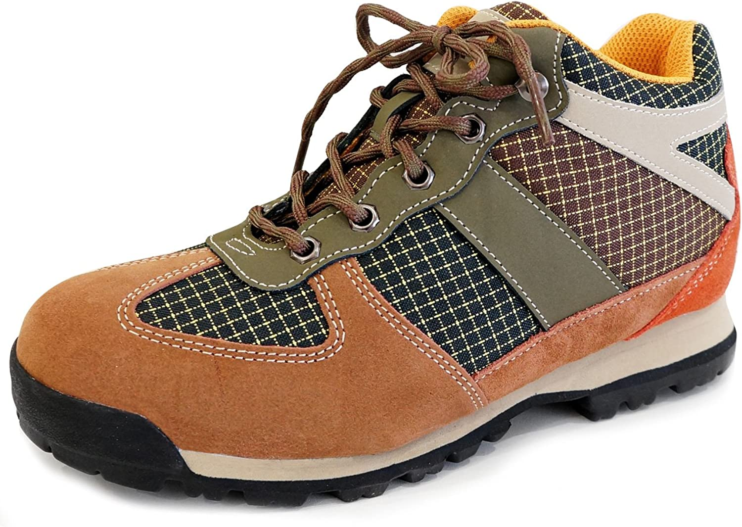 MNX15 Men's Elevator shoes Height Increase 2.7  Clay Brown