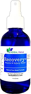 Recovery+ Spray - 100% Natural Pain Relief, Sore Muscle Joint Back, Workout & Injury Formula, Pure Pharma Grade DMSO Magne...