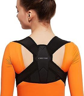"""اصلاح کننده وضعیت بدن برای خانمها و آقایان ، مهاربند قابل تنظیم قسمت فوقانی کمر برای پشتیبانی از کلاکول و ایجاد تسکین درد از گردن ، شانه و پشت راست XL (36 """"-44"""")"""