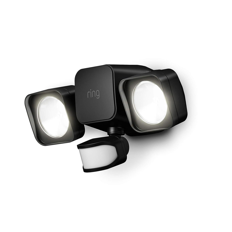 Introducing Ring Smart Lighting -  Floodlight, Battery - Black