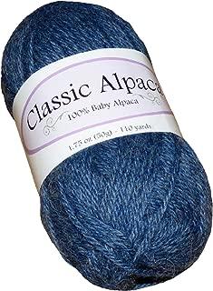 Classic Alpaca 100% Baby Alpaca Yarn #1603 Cowboy Blue
