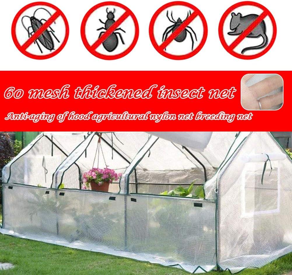 1 m x 5 m Filet anti-insectes pour oiseaux et plantes de jardin