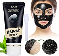 Black Mask, Peel Off Mask, Blackhead Remover Mask, Purifying Face Mask,Deep Cleaning Black Mask, Charcoal Peel-off Mask, Acne Treatment Oil Control