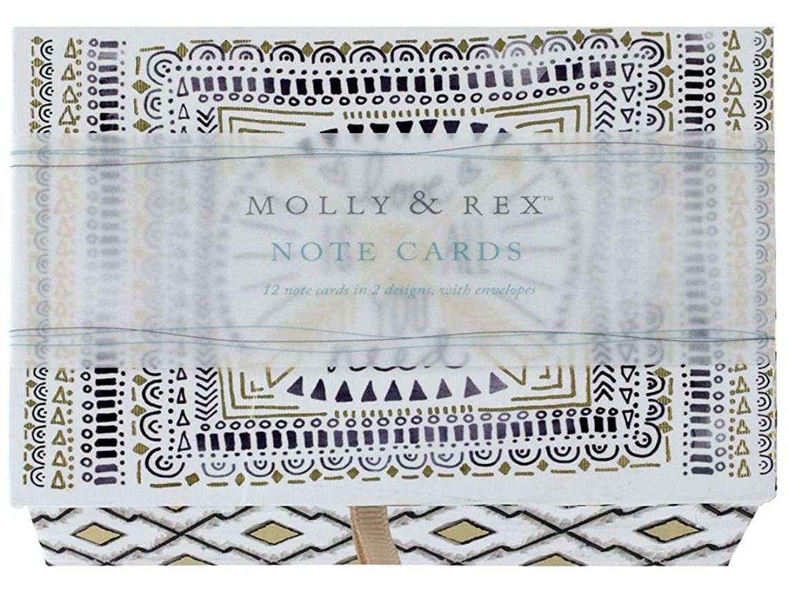 Molly & Rex Boxed Note Card Duo Love Arrow