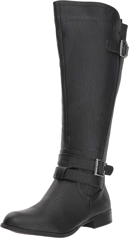 LifeStride supreme Women's Francesca free Wide Calf Shaft High Knee Tall Boot