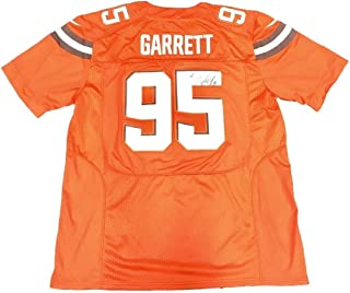 myles garrett jersey orange