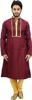 Atasi Men's Designer Kurta Pyjama Set Long Cotton Punjabi Shirt