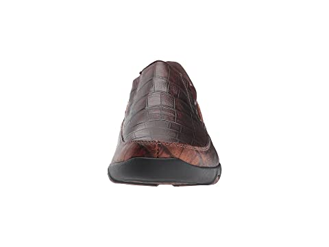 Cheap Sale Official Site Roper Owen Brown Caiman Print Leather Upper Quality From UK Cheap QTo5DJj2Wn