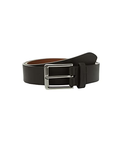 Shinola Detroit Lightning Bolt Keeper Belt (Deep Brown) Men