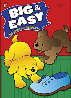 BIG AND EASY COLOR BOOK 96PG