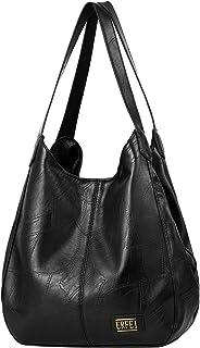 Hobo Bags for Women Large Designer Handbag Bucket Purse Leather Shoulder Bag Tote Bag