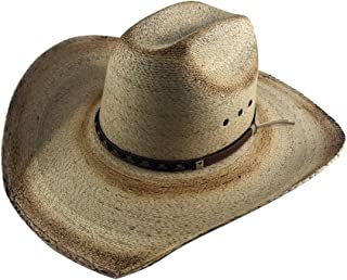 The Original Truman Cowboy Moreno Palm Straw Hat