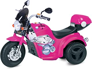 Kid Motorz 6V Motorcycle Ride On, Pink