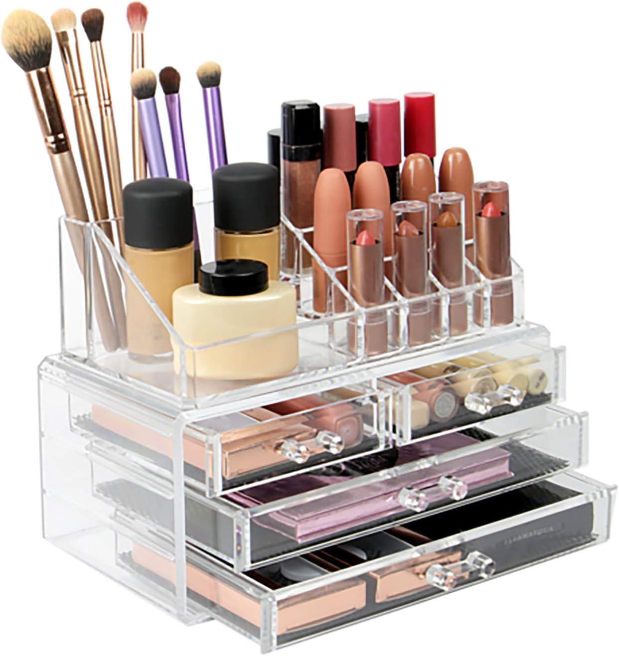 NYW-JJ Clear Acrylic Makeup Beauty Popular popular products Large-Capacity Organizer Sto Desktop
