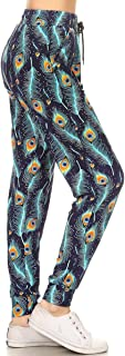Premium Women's Joggers Popular Print High Waist Track Pants(S-XL) BAT3