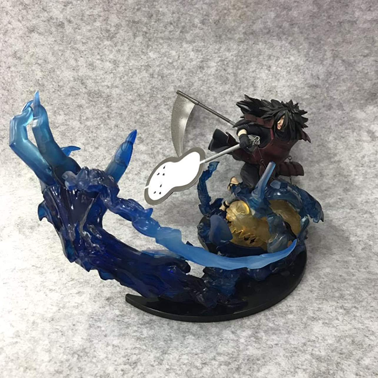 変位努力する現実アニメNARUTO - ナルト - モデル、SGの炎うちはスポット、子供用おもちゃコレクションの像、デスクトップの装飾玩具像玩具モデルPVC(18cm) SHWSM