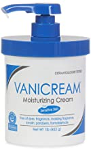 Vanicream Moisturizing Cream with Pump | Fragrance and Gluten Free | For Sensitive Skin | Soothes Red, Irritated, Cracked or Itchy Skin | Dermatologist Tested | 16 Ounce