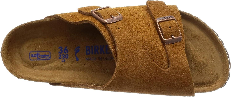 BIRKENSTOCK Damen Zurich SFB Sandale Beige nni6W