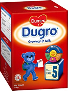Dumex Dugro Growing Up Kid Milk Formula Stage 5 (2x800g)