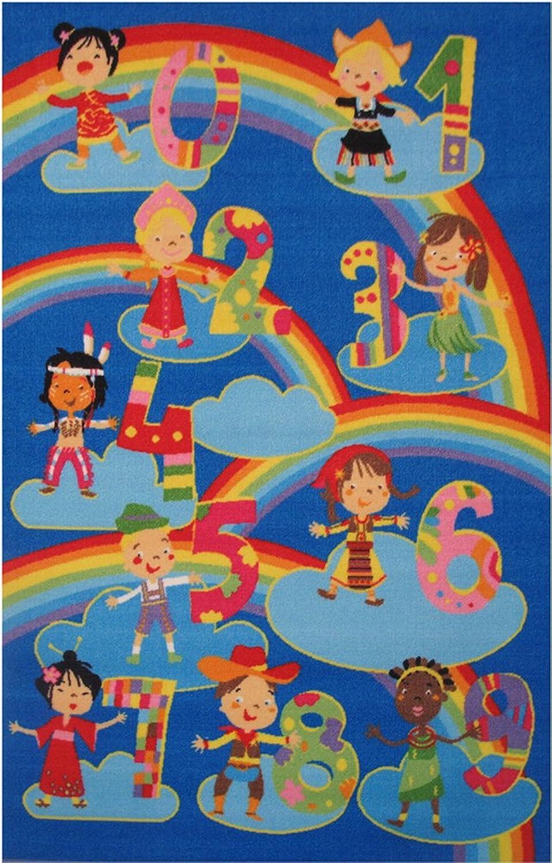 Fun Rugs FT-511 3958 Fun Time Kids and Numbers Rug