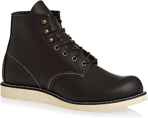 rojo Wing Mens Rover 2951 negro Leather botas 41 EU