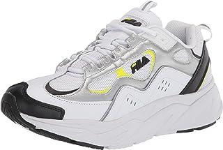 حذاء رجالي ماركة Fila Trigate أبيض/أسود/فضي 12