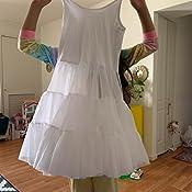 Miss Model Candyland Petticoat Dress for Girls Underdress and Kids White Full Slip Poodle Skirt Perfect for Formal Dress