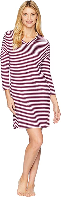 Striped Popover Sleepshirt