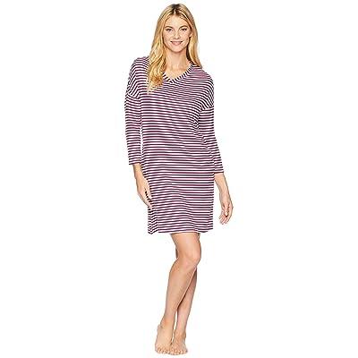 Jockey Striped Popover Sleepshirt (Cozy Stripe) Women