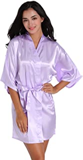 satin nightgown with robe