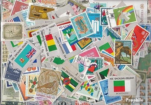 autorización oficial Prophila Prophila Prophila Collection Unidos Naciones (Naciones Unidas) 800 Diferentes Sellos Naciones Unidas (Sellos para los coleccionistas)  sin mínimo