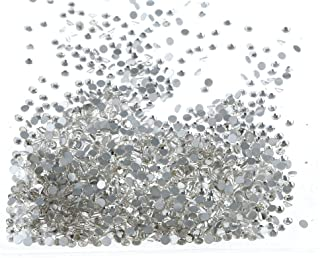 Baosity 1440Pcs Mini Micro Diamond Rhinestone Crystal for Nail Art Beauty Decoration DIY Craft, Different Size for Choose - 2.5 mm