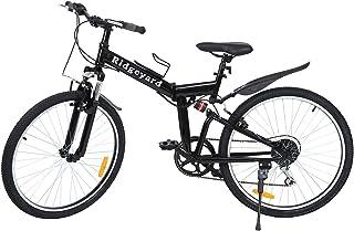"Ridgeyard 26"" 7 velocidades Plegable Bicicleta Folding"