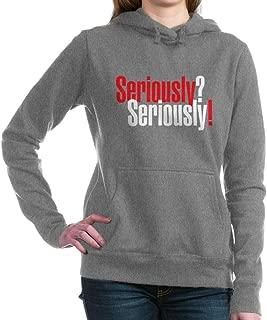 CafePress - Seriously Black.Png Hooded Sweatshirt - Pullover Hoodie, Classic & Comfortable Hooded Sweatshirt