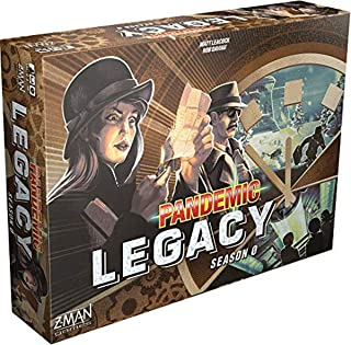 Pandemic Legacy Season 0 Board Game | Family Board Game | Board Game for Adults and Family | Cooperative Board Game | Ages...