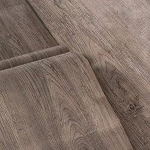 Wall Paper Wallcoverings, PVC Wood Grain Self-adhesive Wallpaper, 61cmX50m Waterproof and Thick Boeing Film, Furniture Ren...