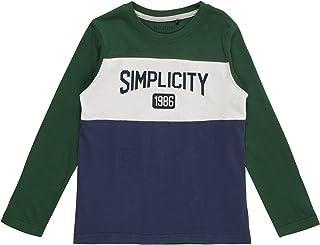 Blue Seven Jungen Langarmshirt Simplicity T-Shirt Langarm grün