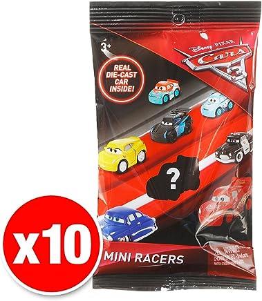 Disney Pixar Cars 3 Micro Racers Blind Bag 10 Pack