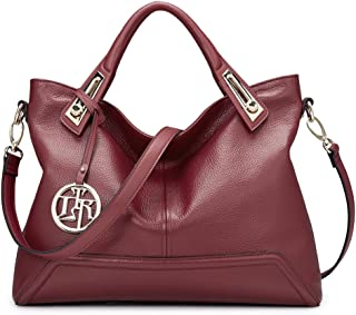 Women's Bag Leather Handbag Lady Shoulder Purse Cowhide Tote