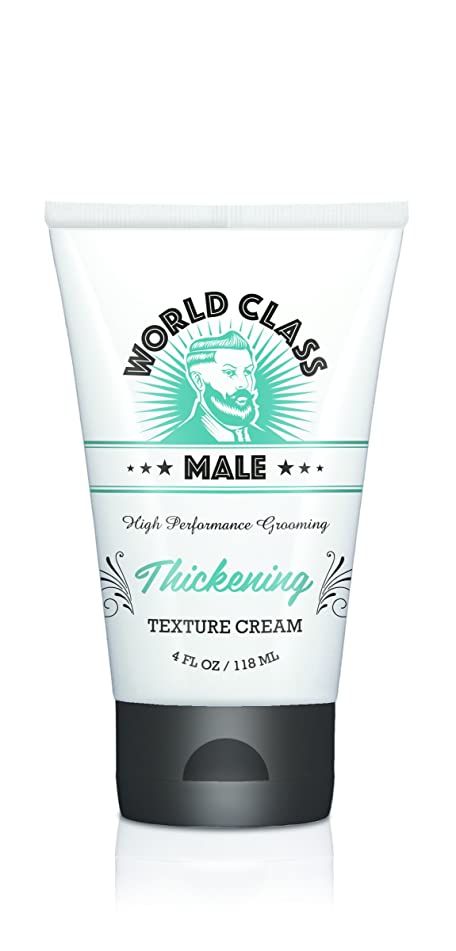 Wold Class Male High Performance Grooming Thickening Texture Cream, 4 OZ