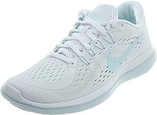 Nike Women'S Flex 2017 Running Shoes, White/Glacier Blue Blue Tint, 9.5 M US