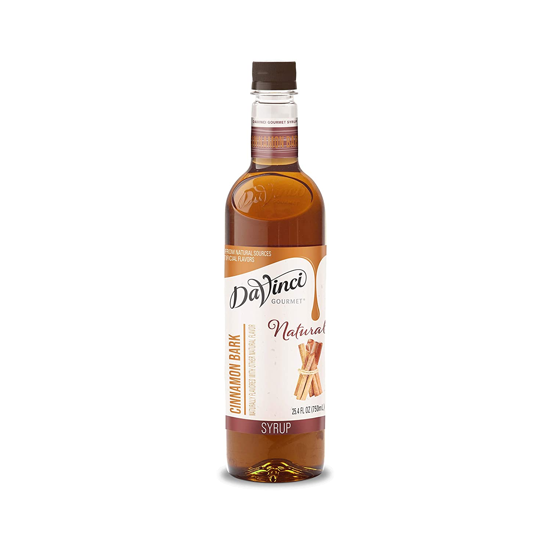 DaVinci New life Gourmet Naturals Cinnamon 25.4 Ounce Bark Syrup Ranking TOP16