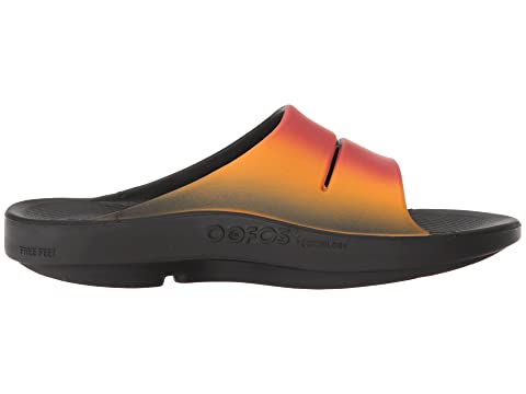 Santal Ooahh Sport Oofos Steelsmokewave Noir Brownflamegraynavy Noirnoir Z6Ow5fqx