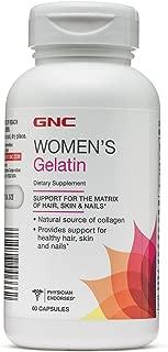 GNC Womens Gelatin 60 caps