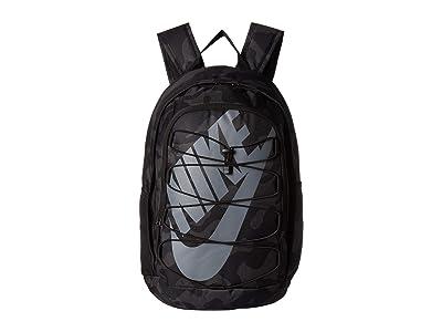 Nike Hayward All Over Print Camo Backpack 2.0 (Black/Black/Black Gs) Backpack Bags
