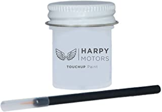 Harpy Motors 2011-2018 Nissan Altima QAB White Pearl Automotive 1/2oz Professional Touch up Paint with Brush -Color Match Guaranteed