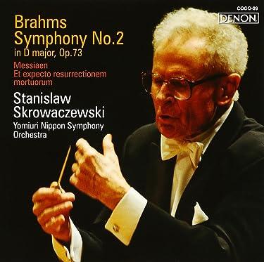 Brahms: Symphony No. 2 / Messiaen Et Expecto Resurrectionem Mortuorem
